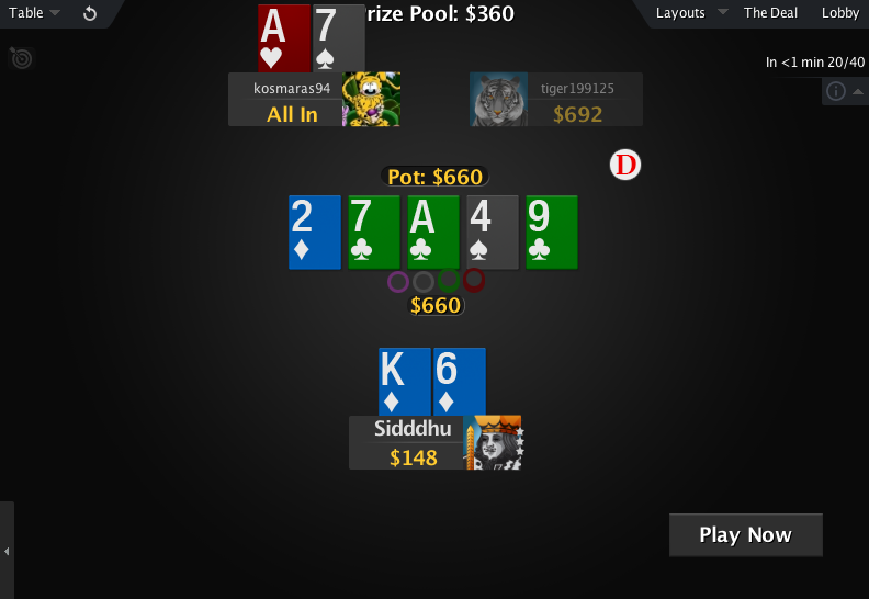 PokerStars Mod Zone Deck 04