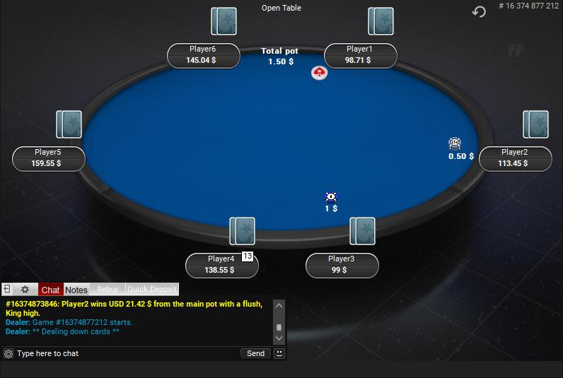 PokerStars Clone for PartyPoker 21