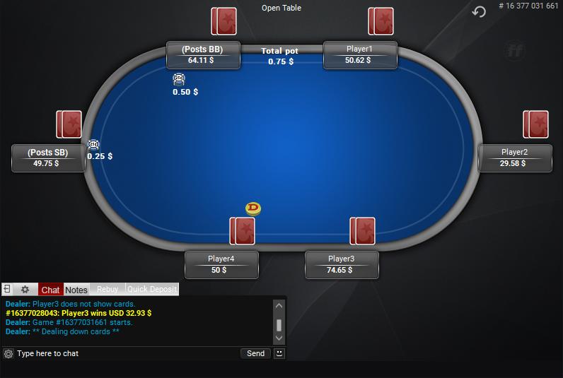 PokerStars Clone for PartyPoker 32