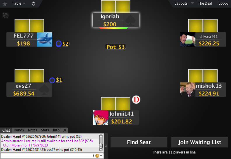 PokerStars Mod Zone 04
