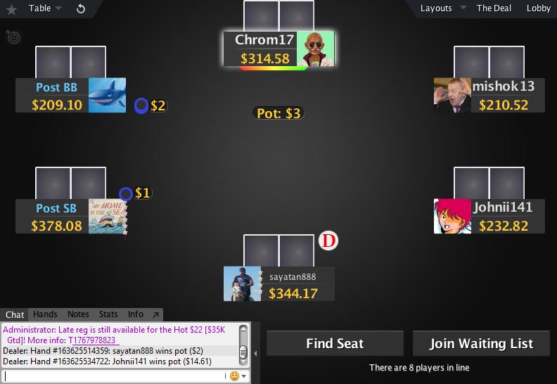 PokerStars Mod Zone 05