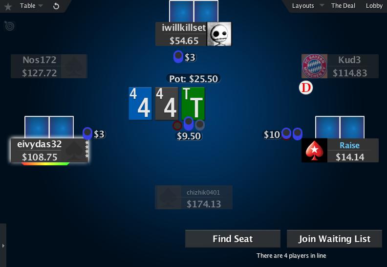 PokerStars Mod Zone White 2