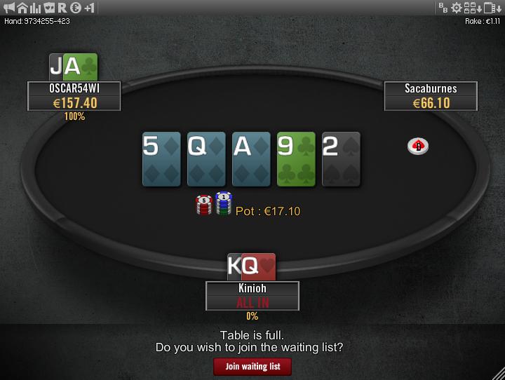 Winamax Stars clone table mod 06
