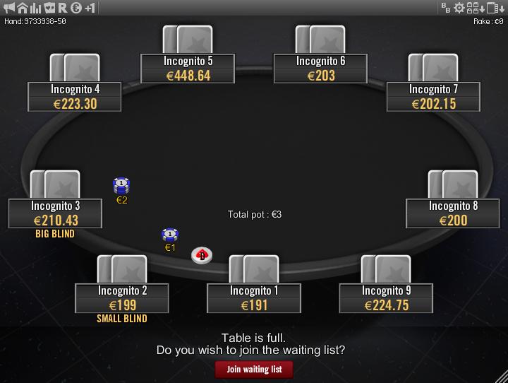 Winamax Stars clone table mod 15