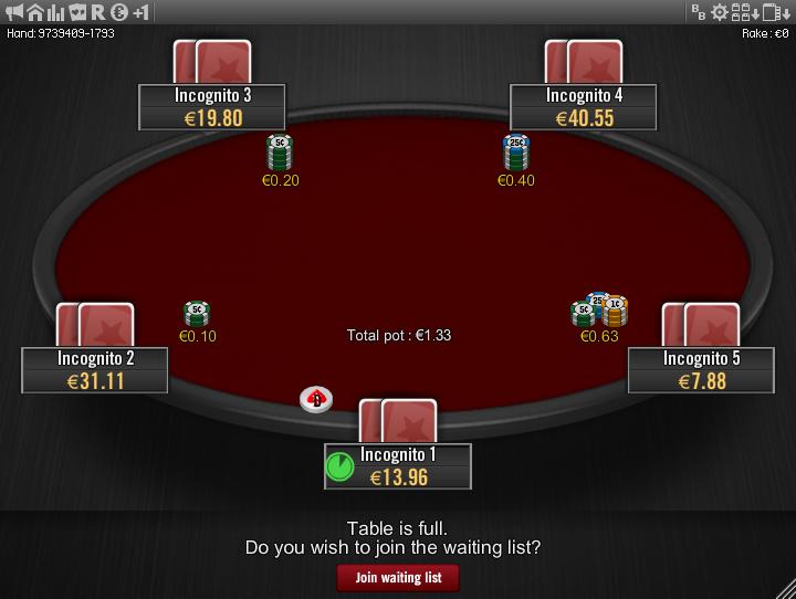 Winamax Stars clone table mod 19