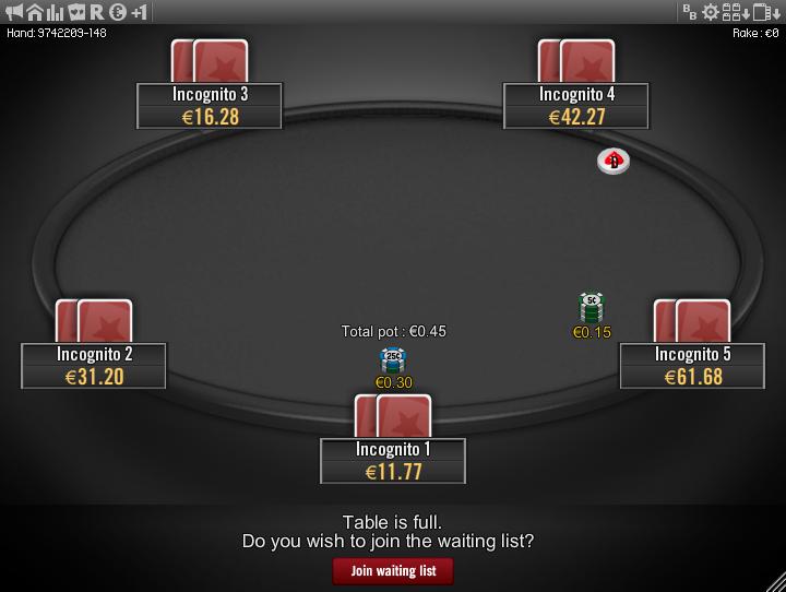 Winamax Stars clone table mod 20