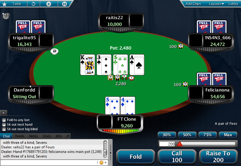 Full Tilt Clone for PokerStars 01.1