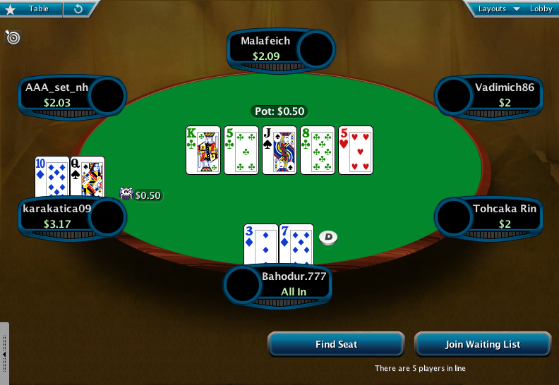 Full Tilt Clone for PokerStars 03
