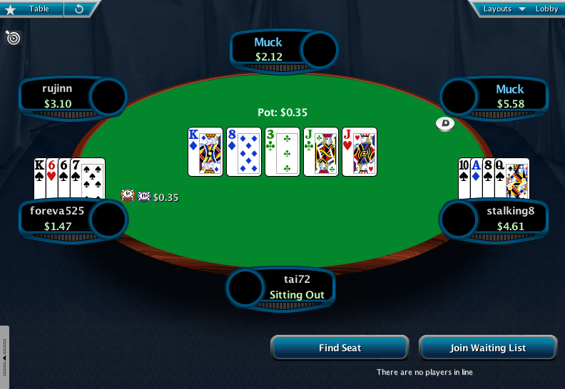Full Tilt Clone for PokerStars 07