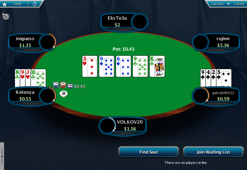 Full Tilt Clone for PokerStars 08