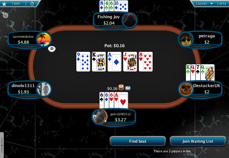 Full Tilt Clone for PokerStars 09