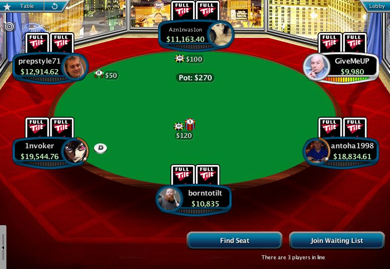 Full Tilt Clone for PokerStars 12