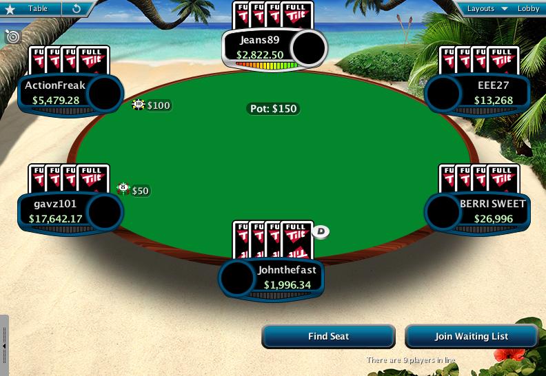 Full Tilt Clone for PokerStars 13
