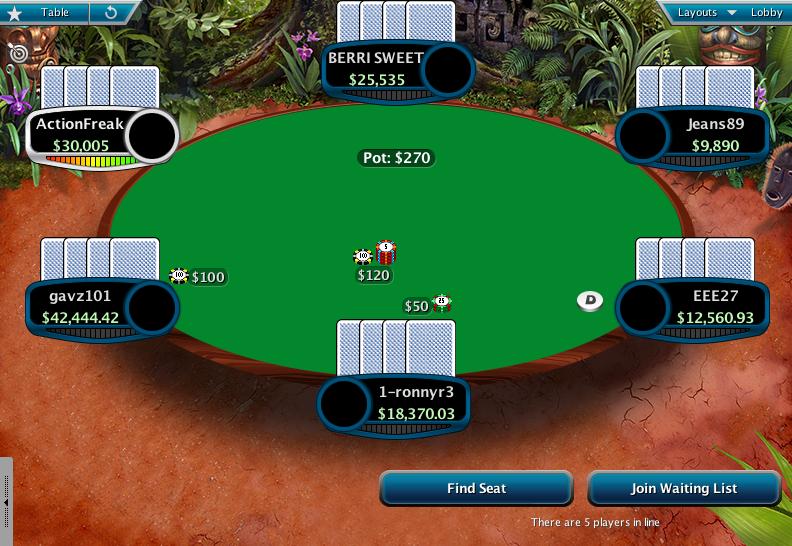 Full Tilt Clone for PokerStars 14
