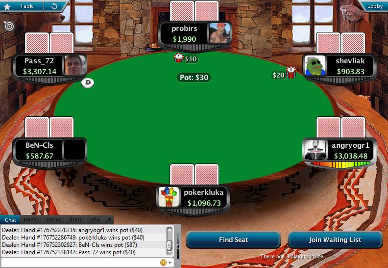 Full Tilt Clone for PokerStars 15.1