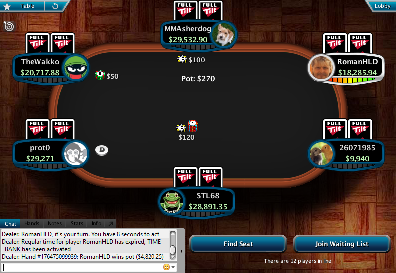 Full Tilt Clone for PokerStars 29