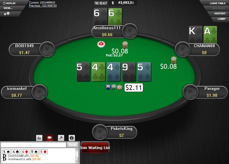 PokerStars Clone for WPN 05