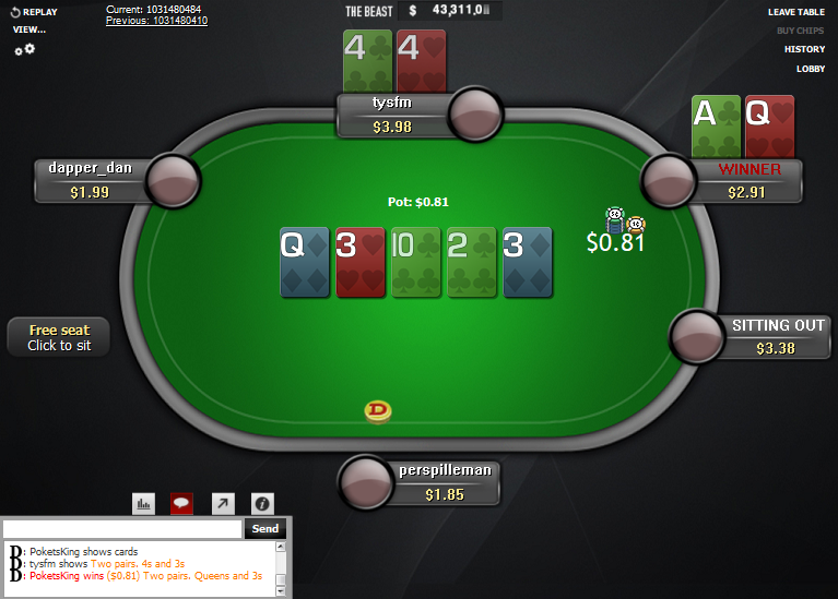 PokerStars Clone for WPN 08