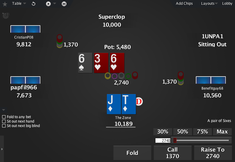 The Zone for PokerStars 01