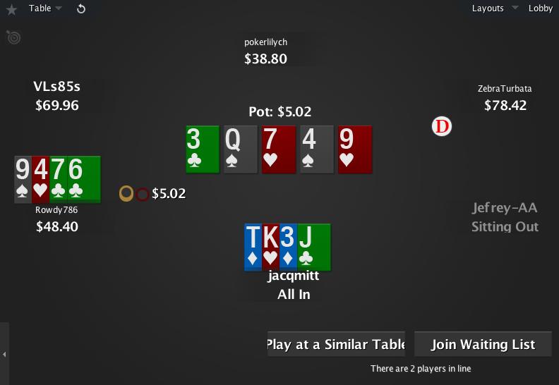 The Zone for PokerStars 07