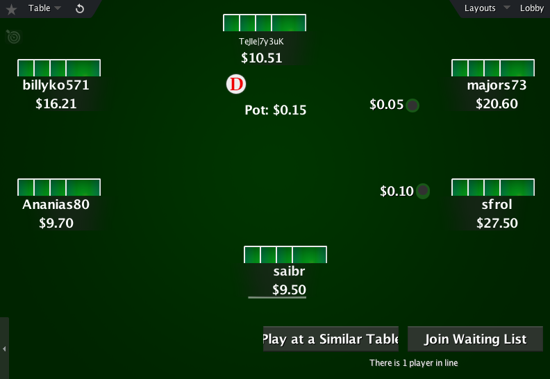 The Zone for PokerStars 10