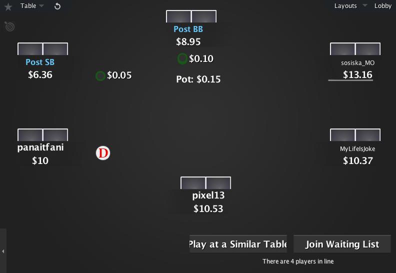 The Zone for PokerStars 13