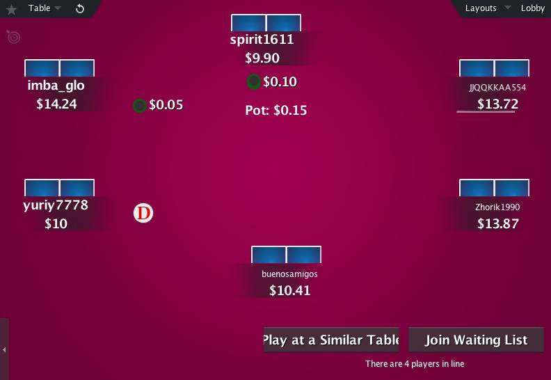 The Zone for PokerStars 20