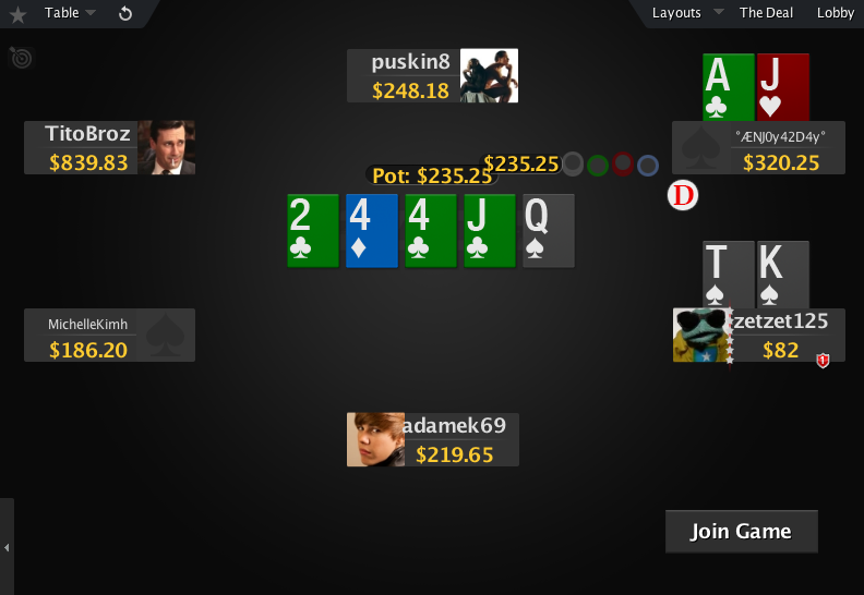 PokerStars Mod Zone Deck 03