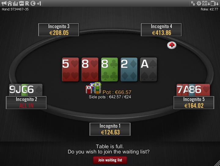 Winamax Stars clone table mod 09