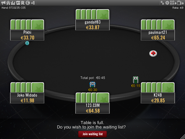 Winamax Stars clone table mod 14