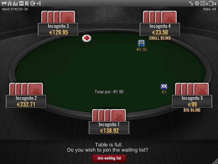 Winamax Stars clone table mod 17