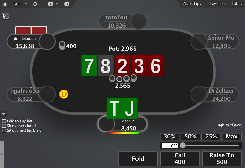 PokerStars Mod GTO V.2 01