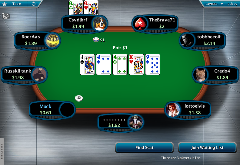 Full Tilt Clone for PokerStars 05