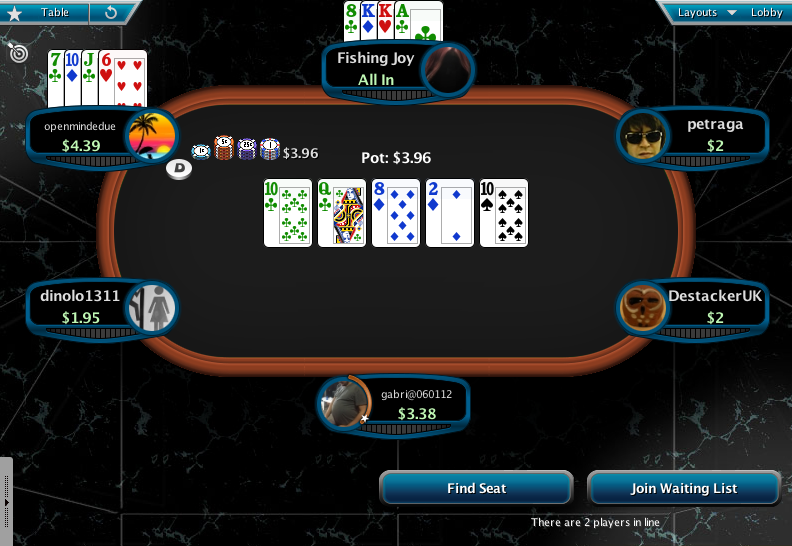 Full Tilt Clone for PokerStars 10