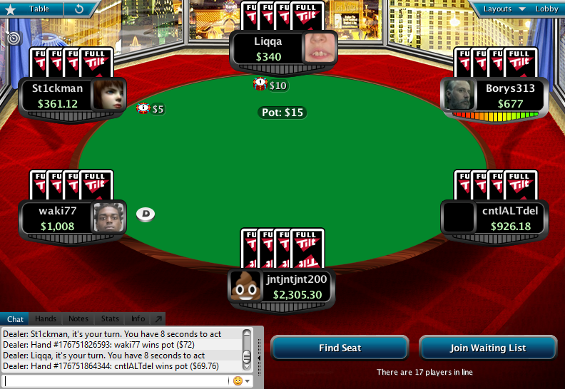 Full Tilt Clone for PokerStars 12.1