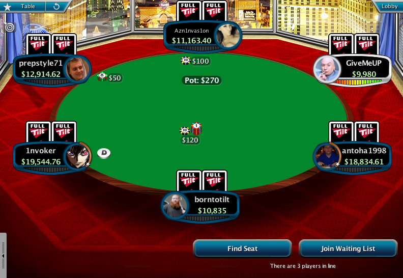Full Tilt Clone for PokerStars 12