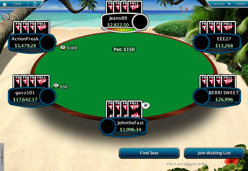 Full Tilt Clone for PokerStars 13