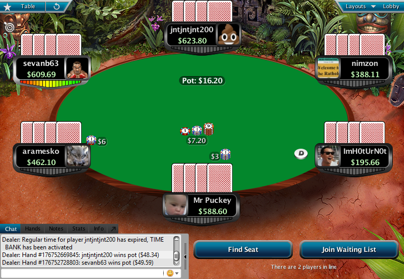 Full Tilt Clone for PokerStars 14.1