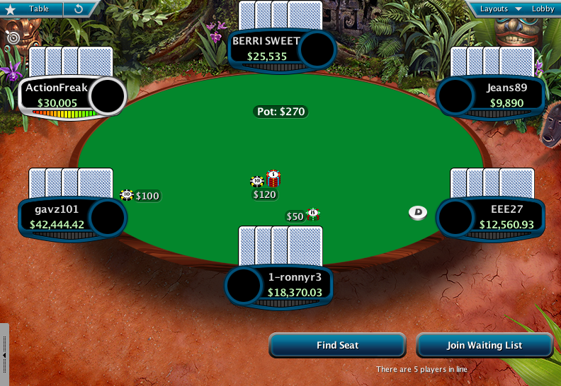 Full Tilt Clone for PokerStars 14
