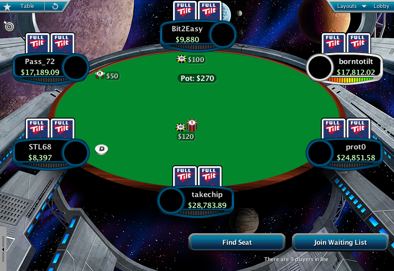 Full Tilt Clone for PokerStars 16