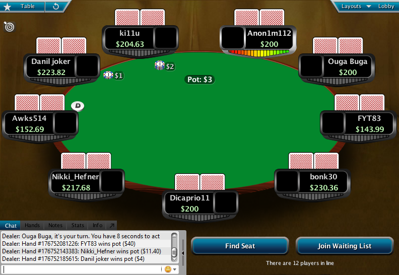Full Tilt Clone for PokerStars 17.1