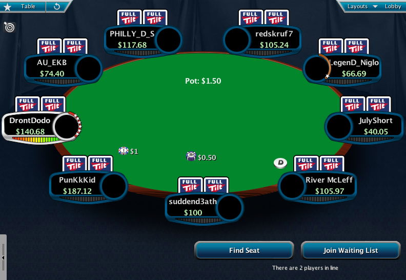 Full Tilt Clone for PokerStars 18