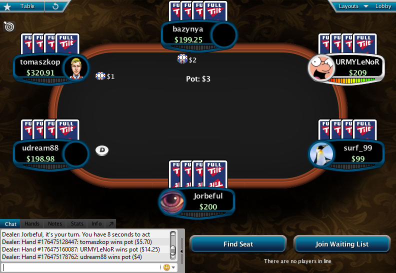 Full Tilt Clone for PokerStars 24