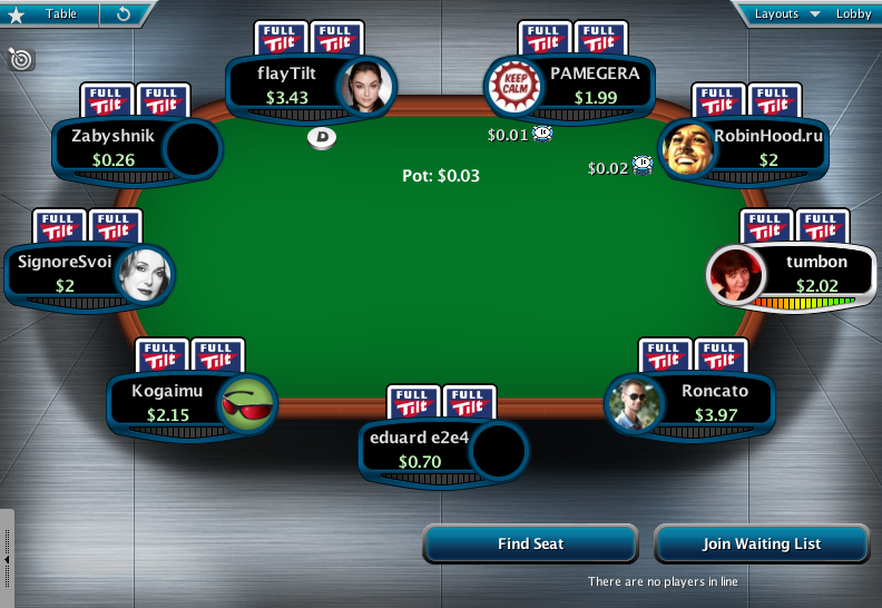 Full Tilt Clone for PokerStars 30