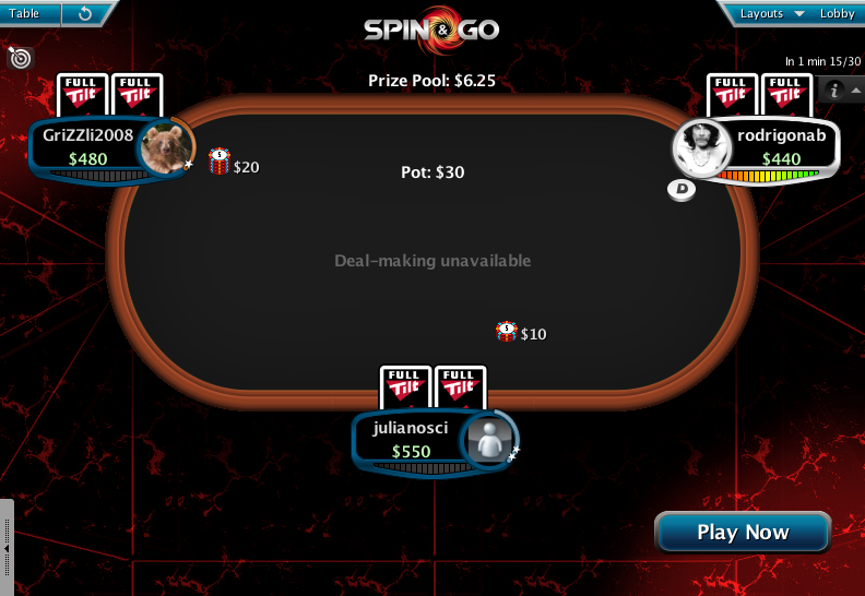Full Tilt Clone for PokerStars 31