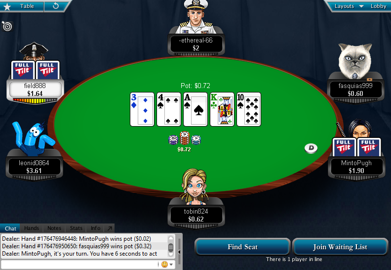 Full Tilt Clone for PokerStars 33