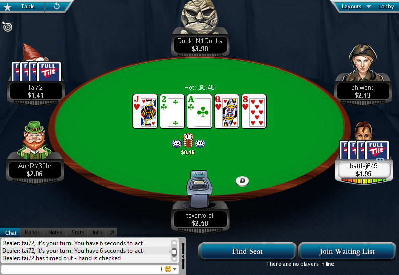 Full Tilt Clone for PokerStars 34