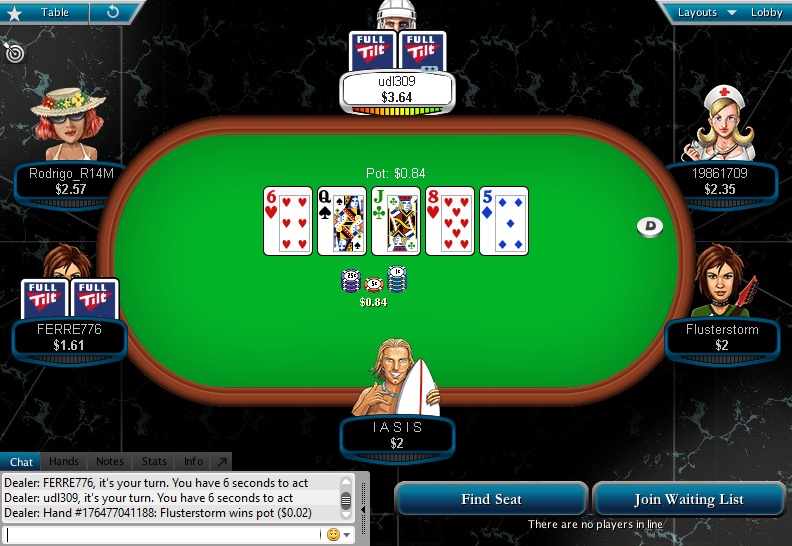 Full Tilt Clone for PokerStars 35