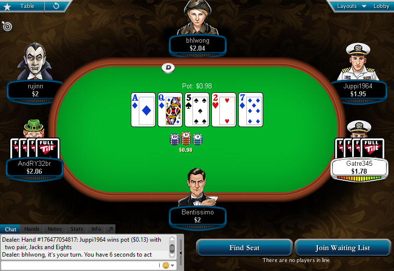 Full Tilt Clone for PokerStars 36