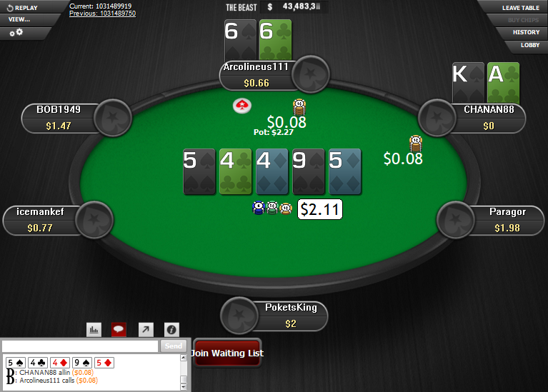 PokerStars Clone for WPN 05